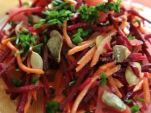 салат из имбиря